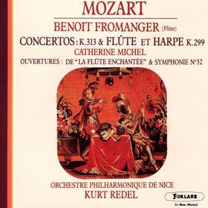 Wolfgang Amadeus Mozart : Concerto K. 313 et concerto pour flûte et harpe K. 299 - Ouvertures de La flûte enchantée et de la Symphonie No. 32