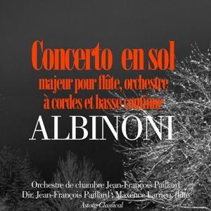 Albinoni : Concerto en sol majeur pour flûte, orchestre à cordes et basse continue (Pour flûte, orchestre à cordes et basse continue)