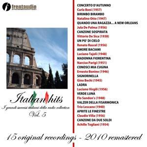 Italian Hits : I grandi successi della radio collection, Vol. 5