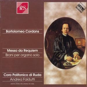 Bartolomeo Cordans: Messa da Requiem - Brani per organo solo