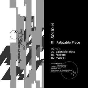 Palatable Piece