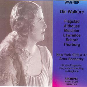 Wagner : Die Walküre (New York 1935-1937)