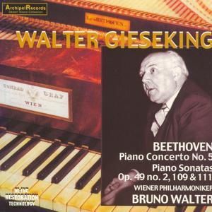 Ludwig van Beethoven : Piano Concerto No. 5, Piano Sonatas Nos. 20, 30 & 32