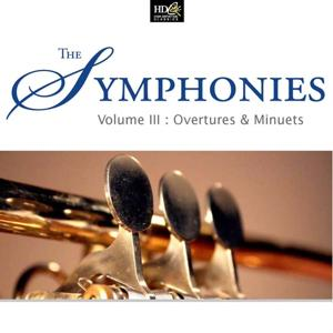 The Symphonies Vol. 3: Overtures & Minuets (Progressive Pieces From Symphonies 18th Century)