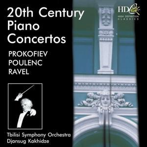 20th Century Piano Concertos (Prokofiev, Poulenc and Ravel)