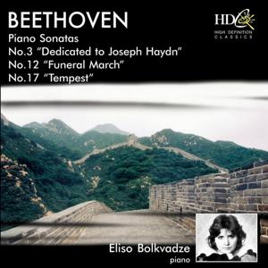 Piano Sonata No.3, Dedicated to Joseph Haydn; Piano Sonata No.12, Funeral March; Piano Sonata No.17, Tempest