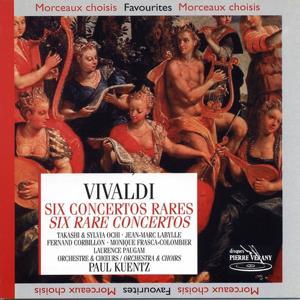 Vivaldi : Six concertos rares