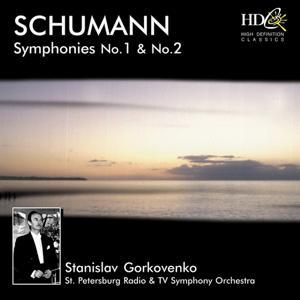 Symphony No.1 in B-Flat Major, Op.38; Symphony No.2 in C Major, Op.61