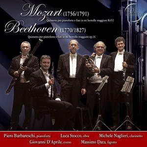Mozart & Beethoven : Quintetti per Pianoforte e Fiati