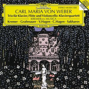 Weber: Piano Trio Op. 63; Piano Quartet Op. 8