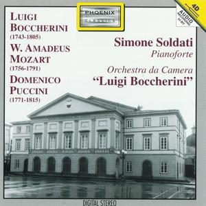 Luigi Boccherini, Wolfgang Amadeus Mozart, Domenico Puccini