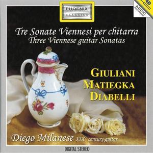 Tre Sonate Viennesi per chitarra (XIX Century Guitar)