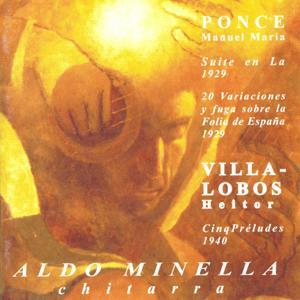 Manuel Maria Ponce, Heitor Villa-Lobos