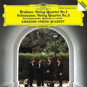 Brahms: String Quartet No.1 / Schumann: String Quartet No.2