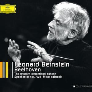 Beethoven: The Amnesty International Concert; Symphonies Nos.7 & 9; Overtures; String Quartet Arr.; Missa solemnis