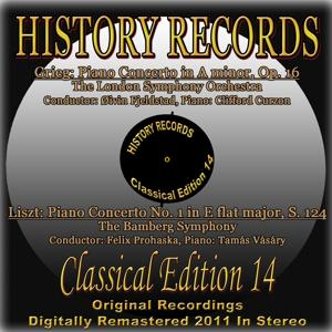 Grieg & Liszt: Piano Concertos (History Records - Classical Edition 14 - Original Recordings Digitally Remastered 2011 In Stereo)
