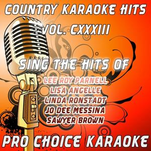 Country Karaoke Hits, Vol. 133 (The Greatest Country Karaoke Hits)