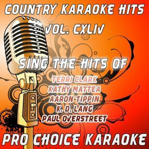 Country Karaoke Hits, Vol. 144 (The Greatest Country Karaoke Hits)