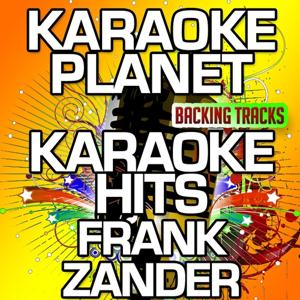 Karaoke Hits Frank Zander (Karaoke Planet)