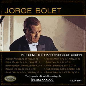 Jorge Bolet Plays Chopin