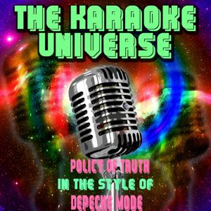 Policy of Truth (Karaoke Version) [in the Style of Depeche Mode]