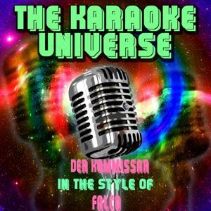 Der Kommissar (Karaoke Version) [in the Style of Falco]