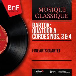Bartók: Quatuor à cordes Nos. 3 & 4 (Mono Version)