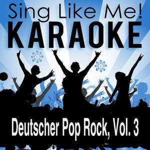 Deutscher Pop Rock, Vol. 3 (Karaoke Version)