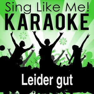 Leider gut (Karaoke Version)