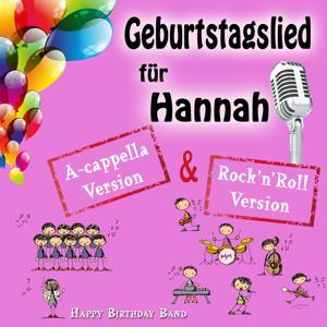Geburtstagslied für Hannah