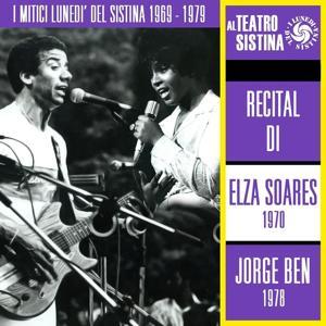 I mitici lunedì del Sistina 1969 - 1979: recital di Elza Soares e Jorge Ben