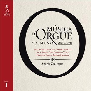 Música d'Orgue a Catalunya, Vol. 1