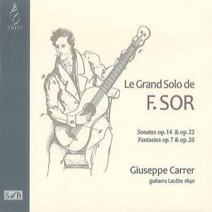 F. Sor: Le grand solo