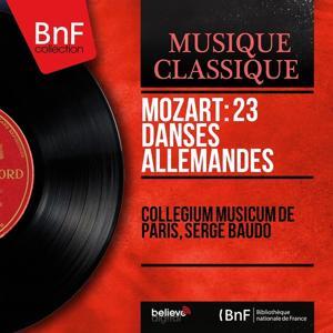 Mozart: 23 Danses allemandes (Mono Version)