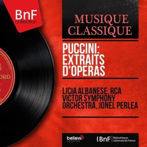 Puccini: Extraits d'opéras (Mono Version)