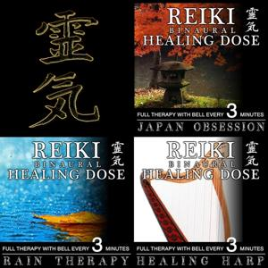 Reiki Binaural Healing Dose Collection, Vol. 14 (3h Full Therapy With Bell Every 5 Minutes)