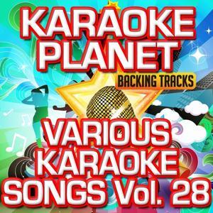 Various Karaoke Songs, Vol. 28 (Karaoke Version)