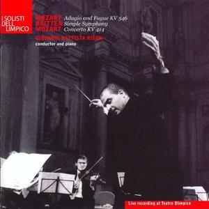 Mozart: Adagio and Fugue, K. 546 & Piano Concerto No. 12, K. 414 - Britten: Simple Symphony, Op. 4 (Live Recording)