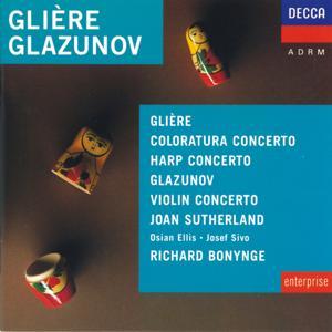 Glière/Glazunov etc: Harp Concerto/Concerto for Coloratura Soprano etc