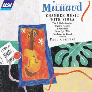 Milhaud: Chamber Music With Viola
