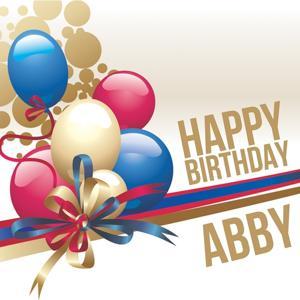 Happy Birthday Abby