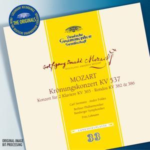Mozart: Coronation concerto K537, Concerto for 2 Pianos K365, Rondos K382 & 386