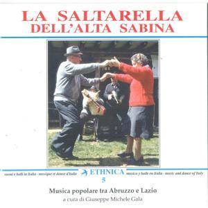 Musica popolare tra Abruzzo e Lazio: La saltarella dell'Alta Sabina