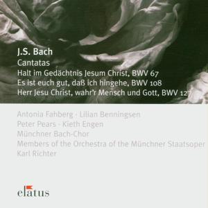 Bach, JS : Cantatas BWV Nos 67, 108 & 127  -  Elatus