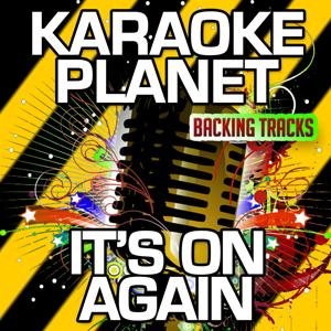 It's on Again (Karaoke Version with Background Vocals) (Originally Performed By Alicia Keys & Kendrick Lamar)