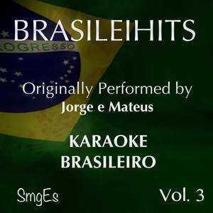 BrasileiHits, Vol. 3 (Karaoke Version) [Originally Performed By Jorge e Mateus]