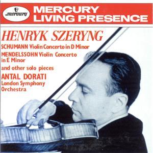 Schumann: Violin Concerto / Mendelssohn: Violin Concerto in E minor etc.