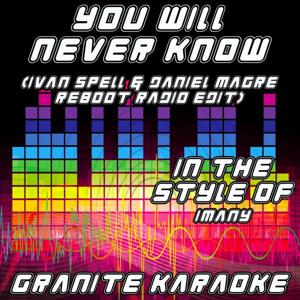 You Will Never Know (Reboot Radio Edit) (Originally Performed by Imany) [Karaoke Versions]