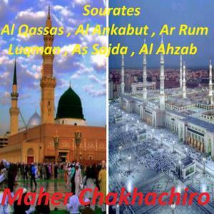 Sourates Al Qassas, Al Ankabut, Ar Rum, Luqman, As Sajda, Al Ahzab (Quran)