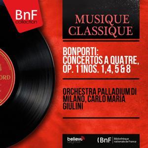 Bonporti: Concertos à quatre, Op. 11 Nos. 1, 4, 5 & 8 (Mono Version)